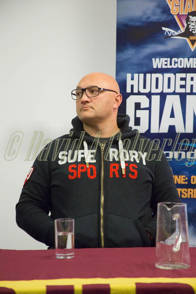 2016 Fans Forum Paul Anderson 001 Huddersfield Giants
